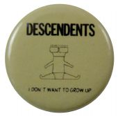 Decendents - 'I Don't Want to Grow Up' Button Badge